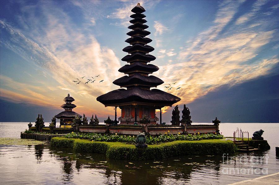 Bali Photograph - Bali Water Temple 2 by Ben Yassa