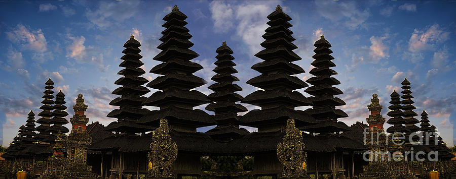 Temples Photograph - Bali Water Temple by Ben Yassa