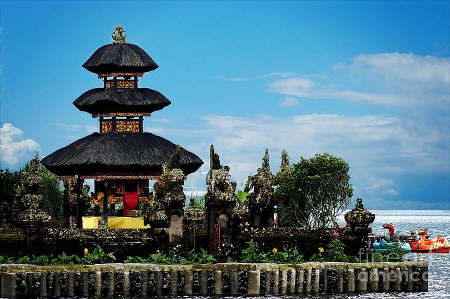 Bali Photograph - Bali Wayer Temple by Ben Yassa