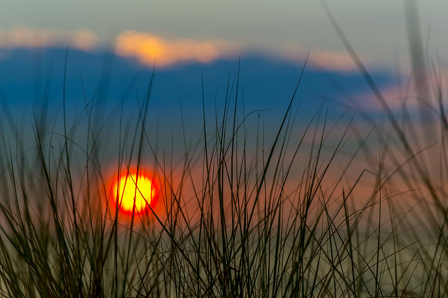 Clouds Photograph - Ball Of Fire by Sebastian Musial