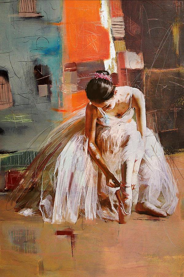 Famous Ballerina Oil Painting