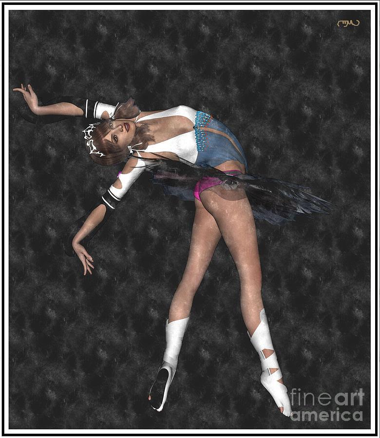 Post-impressionism Painting - Ballerina B1 by Pemaro