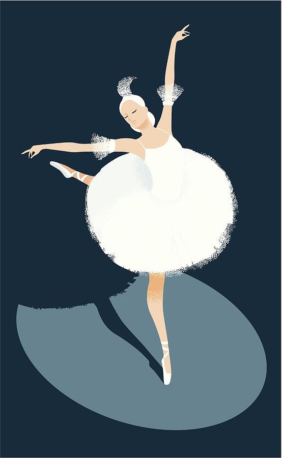 Ballerina Dancing Digital Art by Mcmillan Digital Art