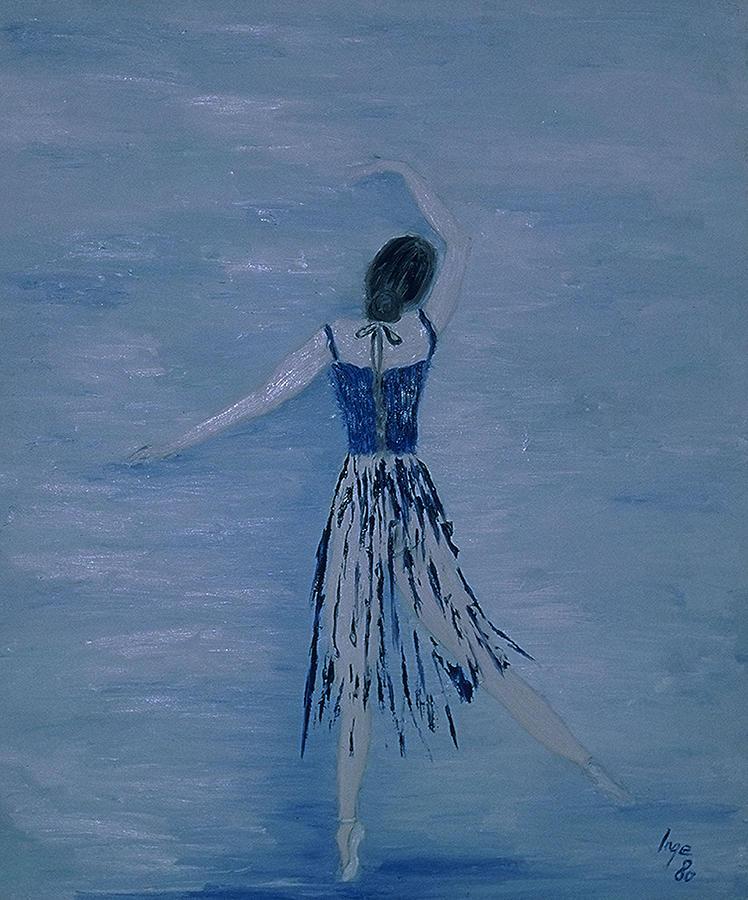 Impressionism Painting - Ballerina by Inge Lewis