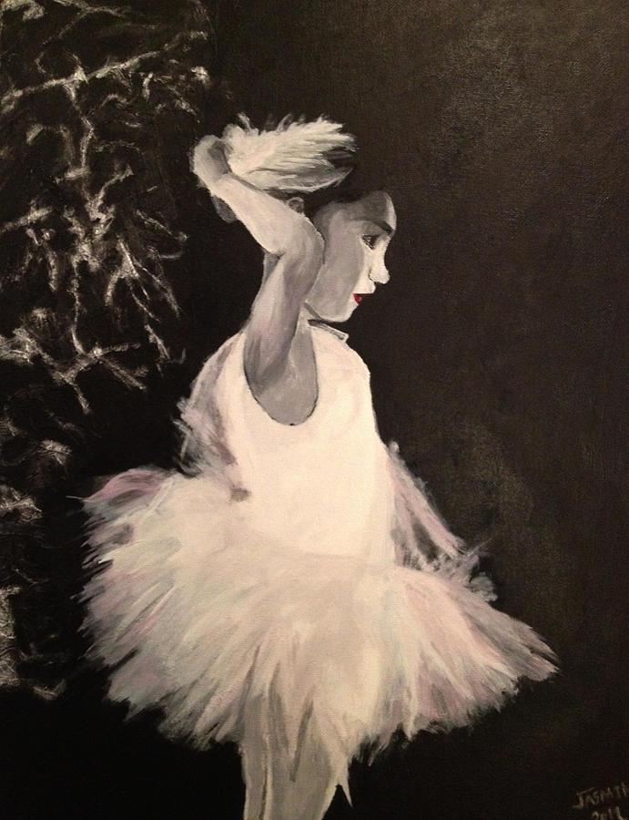 Tutu Painting - Ballerina Look by Jasmin Jumah