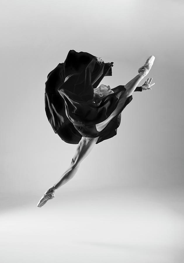 Ballet Photograph - Ballerina by Piotr Leczkowski