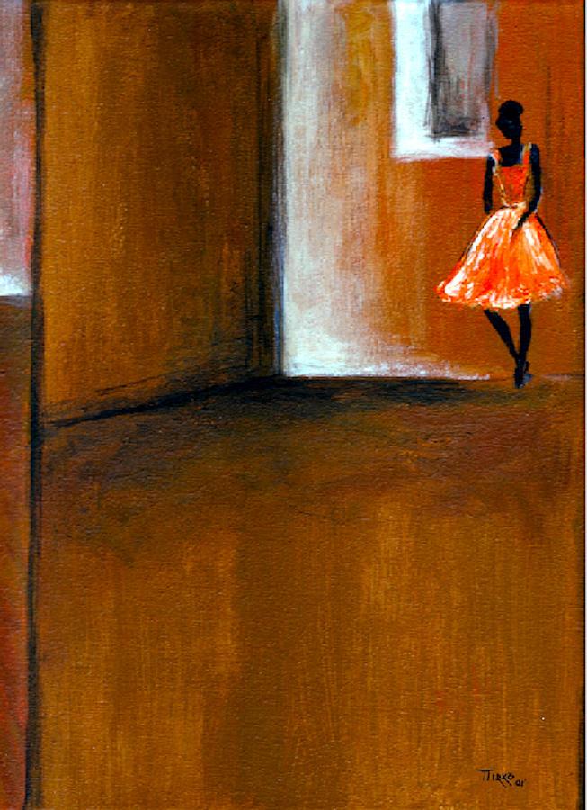 Ballerina Painting - Ballerine Solitaire by Mirko Gallery