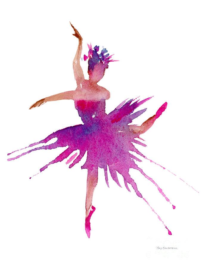Ballet Arabesque Painting