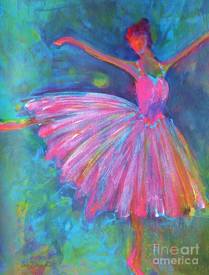 Ballet Bliss Painting By Deb Magelssen