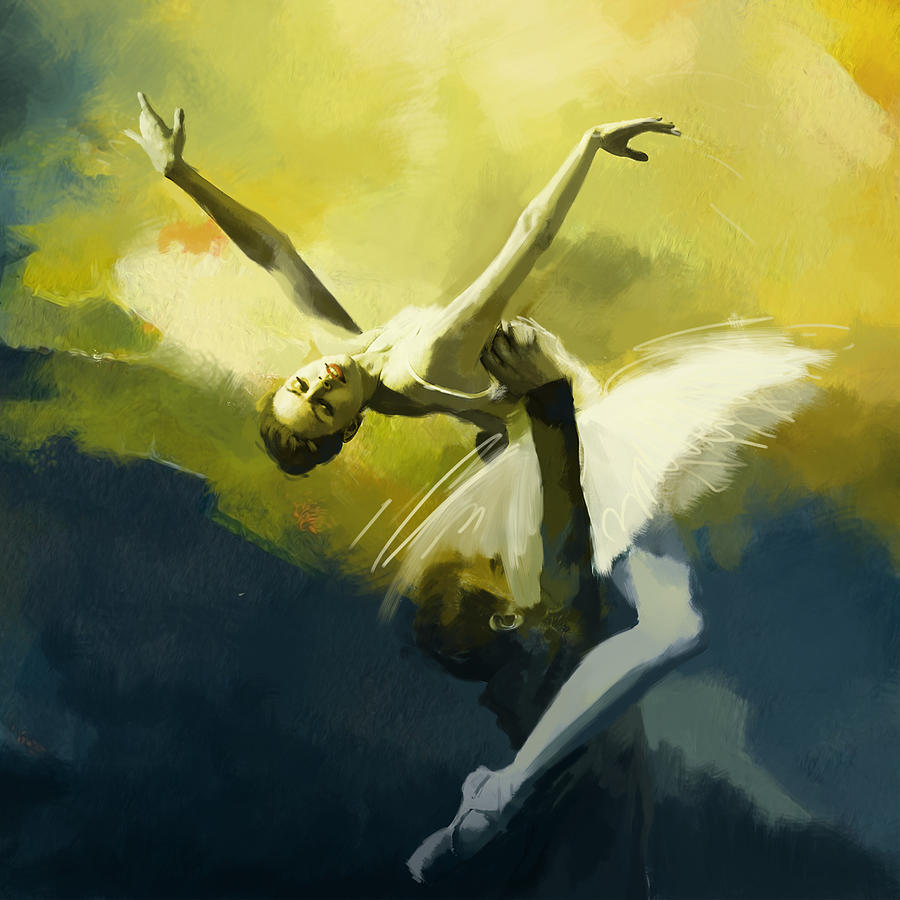 Ballerina Oil Paintings