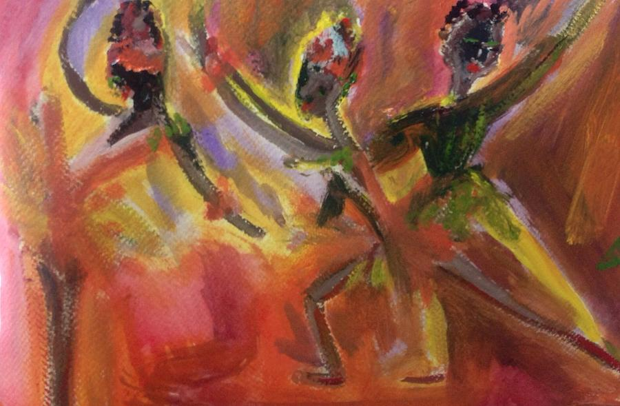 Day Painting - Ballet For Daybreak by Judith Desrosiers