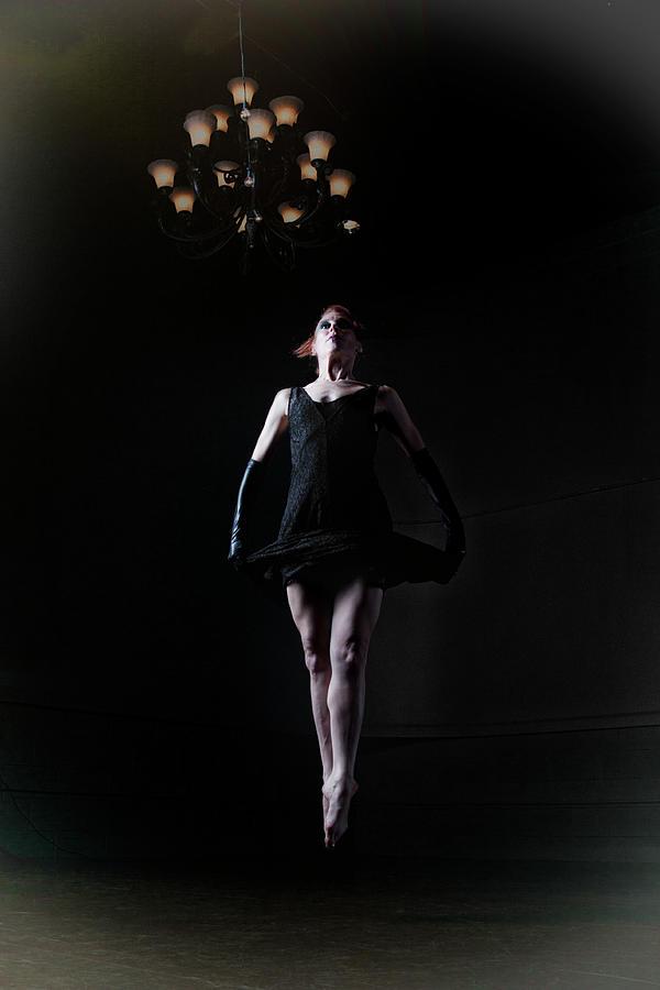 Ballet Jump Photograph by Kathydewar