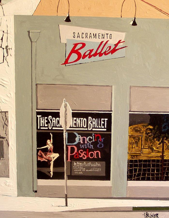 Sacramento Painting - Ballet On K by Paul Guyer