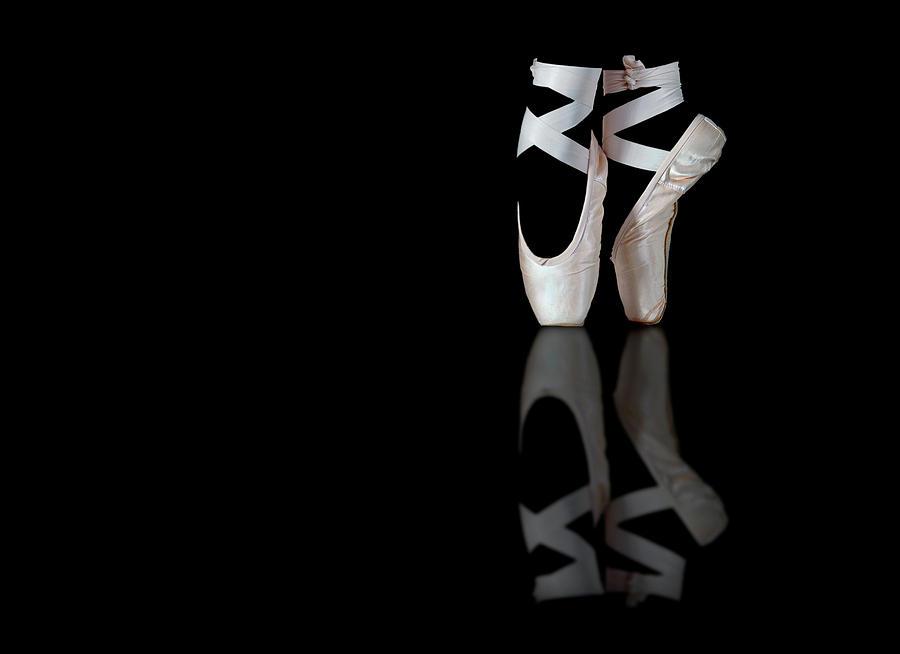 Shoes Photograph - Ballet by Pauline Pentony Ma