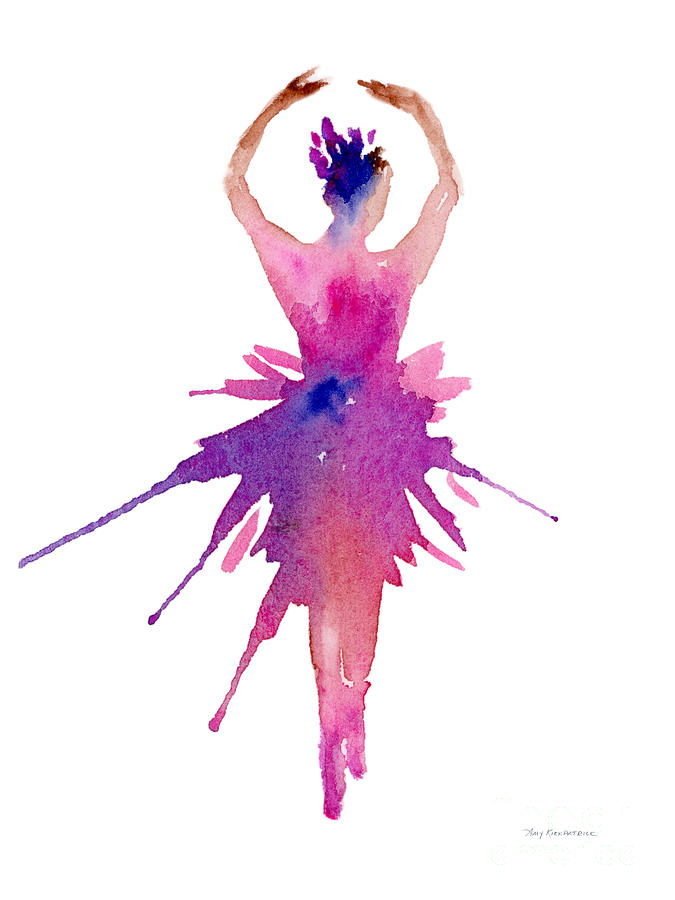 Ballet Releve Painting