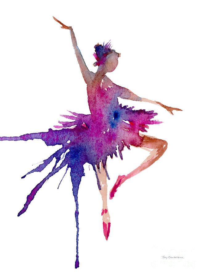 Ballet Retire Devant Painting