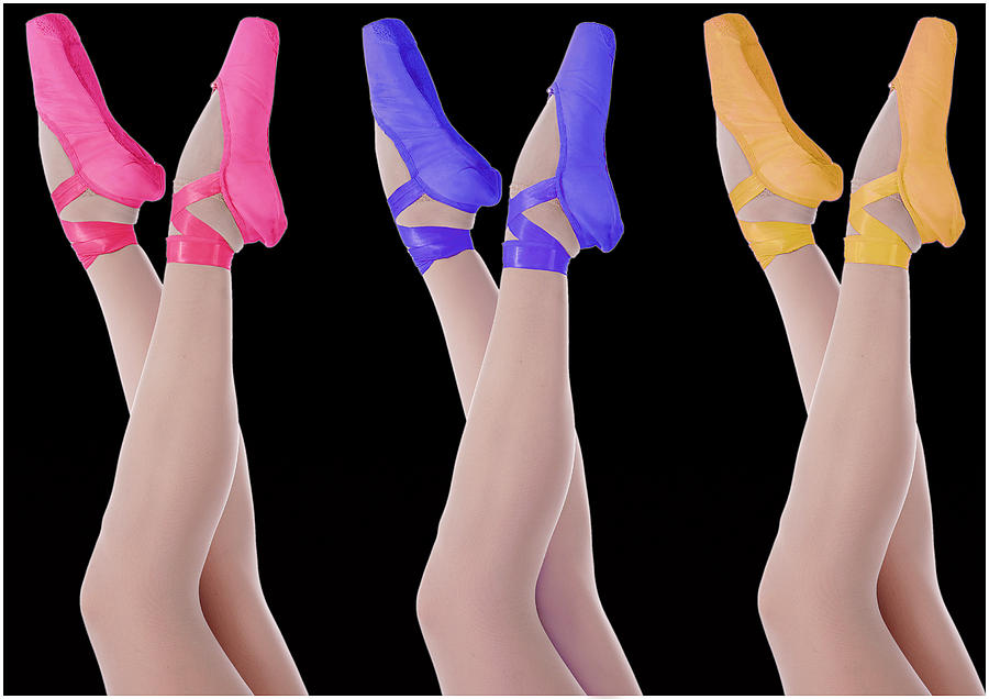 Ballet Photograph - Ballet Shoes by Stephen Norris