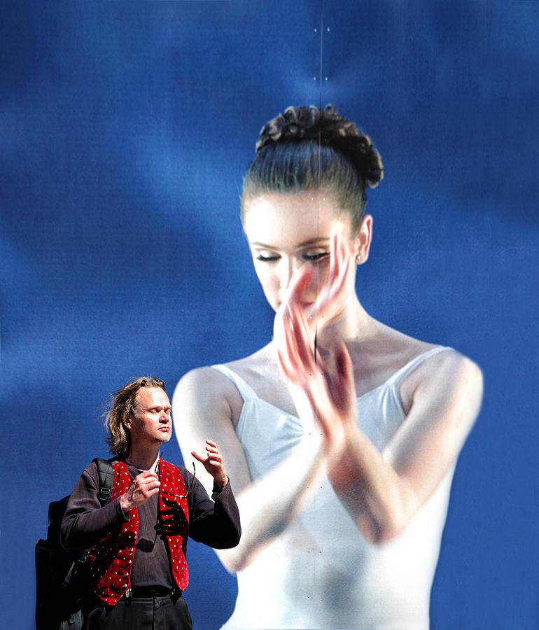 Ballet Photograph - Ballet With A Stranger by Kent Mathiesen