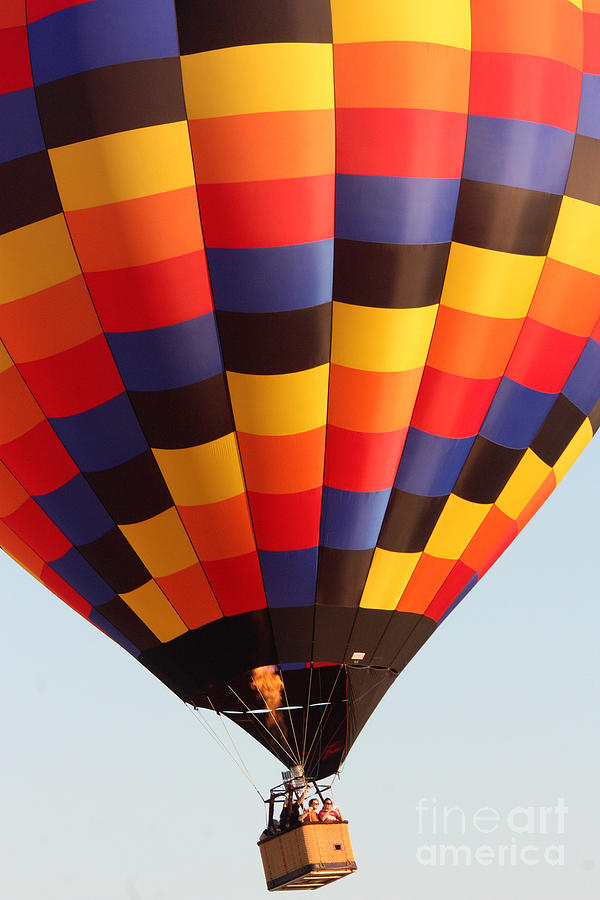 Hot Air Balloon Photograph - Balloon-color-7277 by Gary Gingrich Galleries