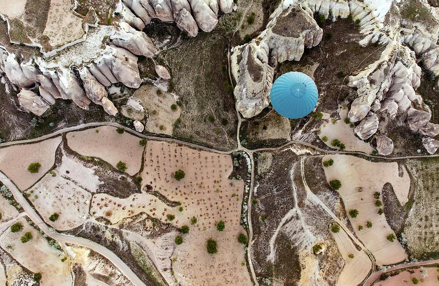 Hot Air Balloon Photograph - Balloon by Engin Karci