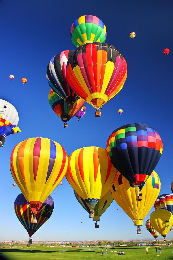 Balloon Photograph - Balloon Grouping by Joe Myeress