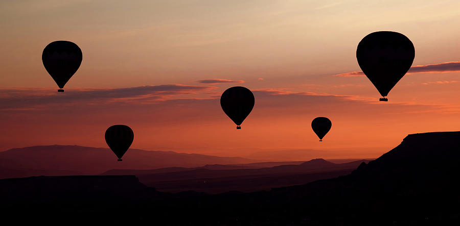 Balloon Photograph - Balloons by Engin Karci