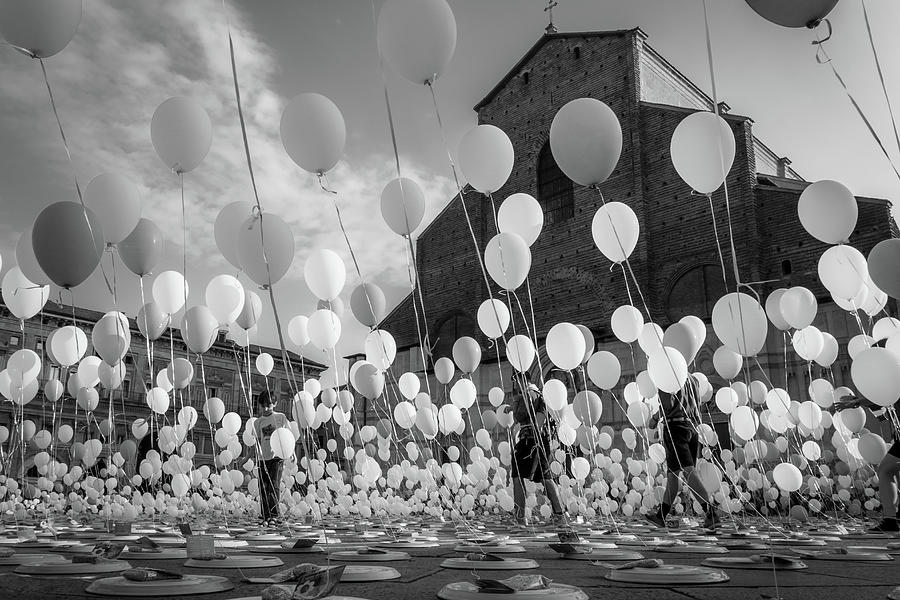 Balloons Photograph - Balloons For Charity by Giorgio Lulli