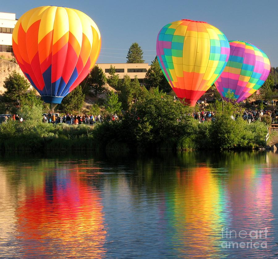 Balloons Over Bend Oregon by Kevin Desrosiers