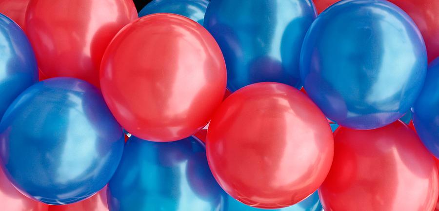 Anniversary Photograph - Balloons by Tom Gowanlock
