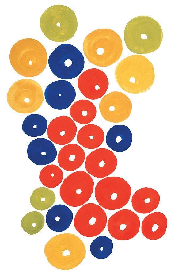 Contemporary Painting - Balls by Bjorn Sjogren