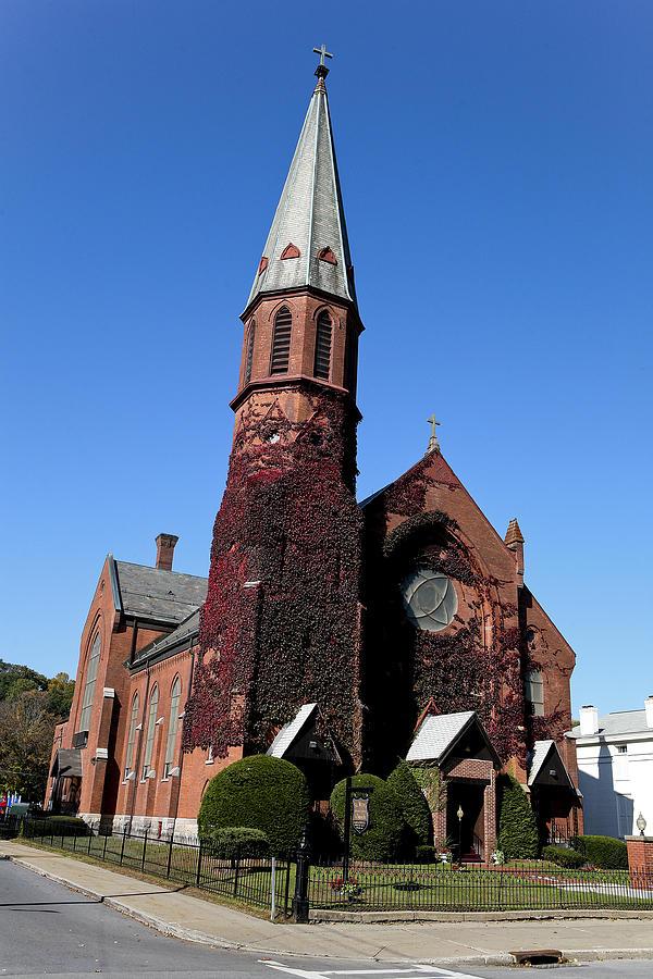 Church Photograph - Ballston Spa Church by Eric Swan
