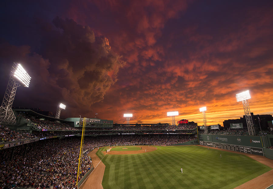 Baltimore Orioles v Boston Red Sox Photograph by Michael Ivins/Boston Red Sox