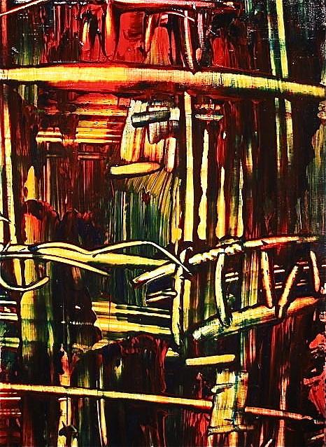Bamboo Painting - Bamboo by Janice Nabors Raiteri