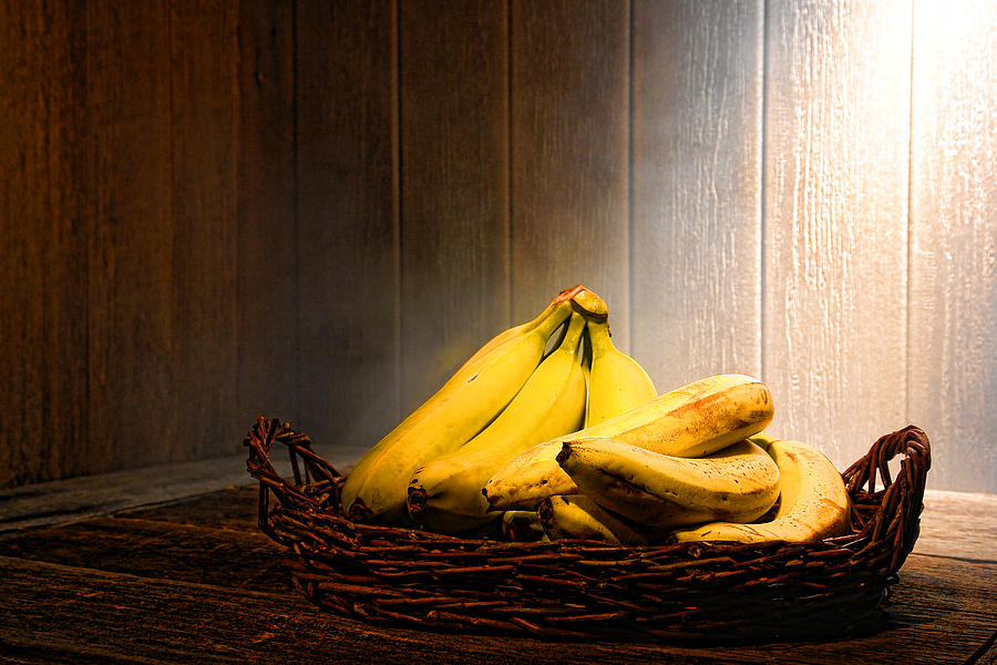 Fresh Photograph - Bananas by Olivier Le Queinec