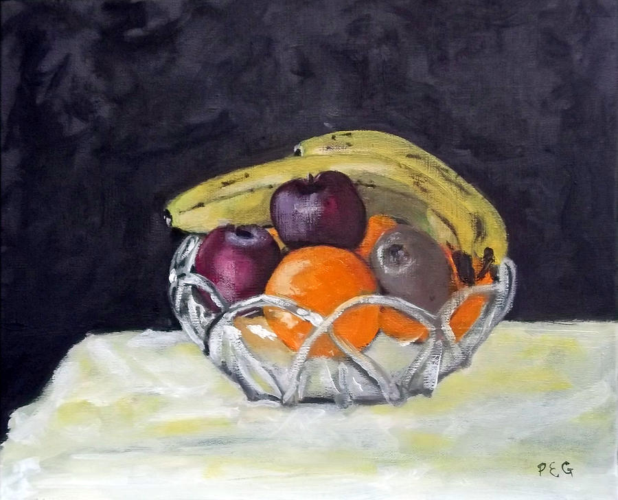 Still Life Painting - Bananas by Peter Edward Green