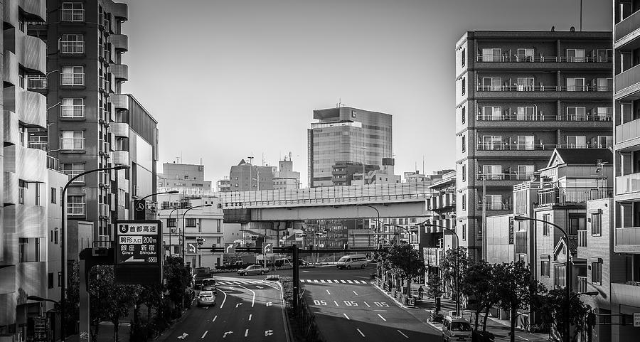 Bandai Photograph - Bandai Building by Ryan Routt