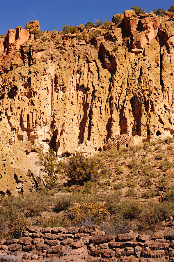 Ancient Ruins Photograph - Bandelier 1 by Kate Livingston