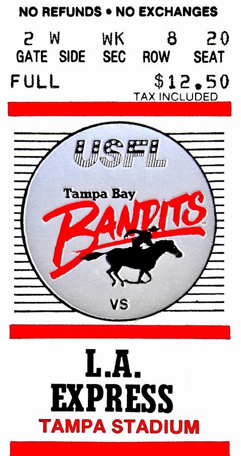 Tampa Photograph - Bandit Ball by Benjamin Yeager