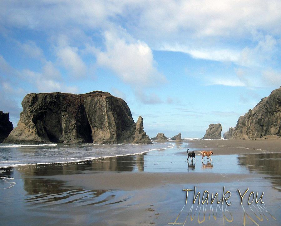 Bandon Beach Oregon Photograph
