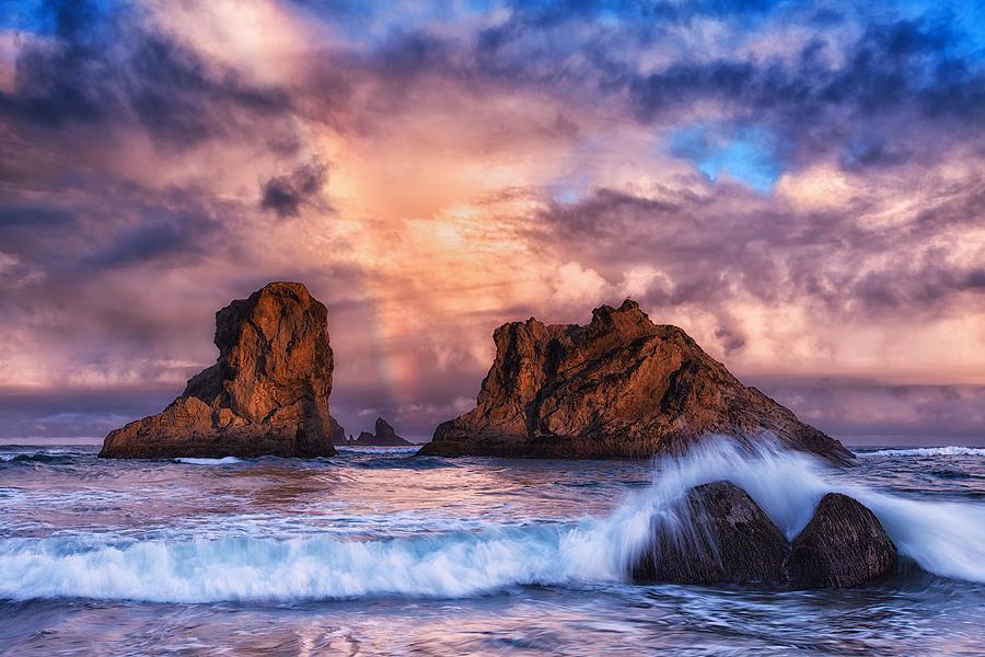 Storm Photograph - Bandon Beauty by Darren  White