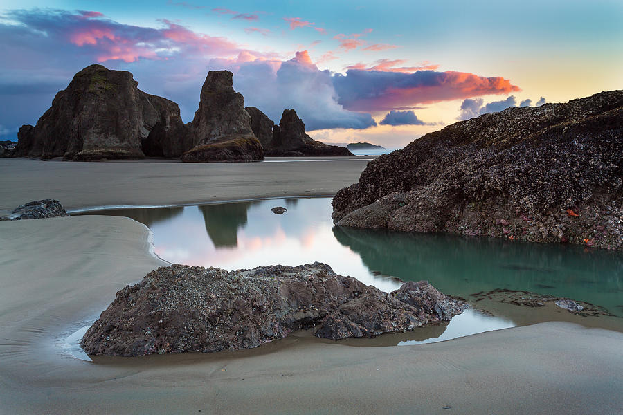 Landscape Photograph - Bandon By The Sea by Robert Bynum