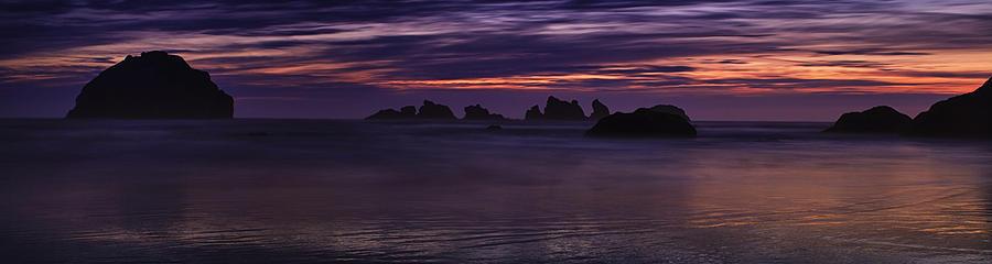 Oregon Photograph - Bandon Panorama by Andrew Soundarajan