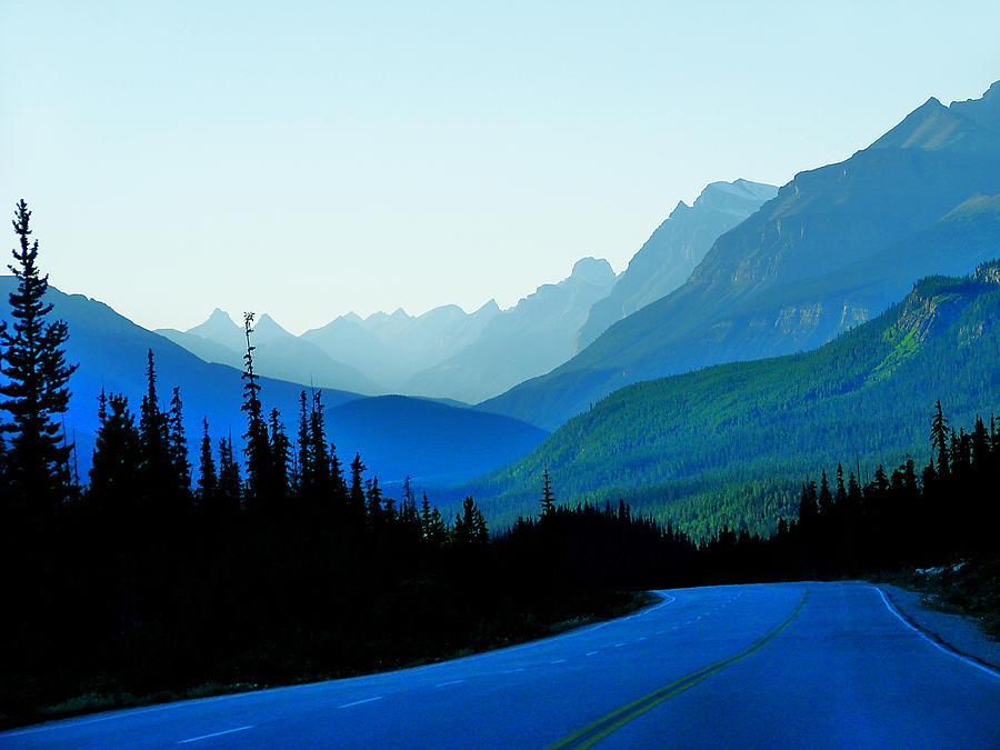 Blue Photograph - Banff Jasper Blue by Blair Wainman