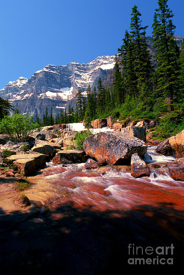 Banff - Paradise Valley Photograph