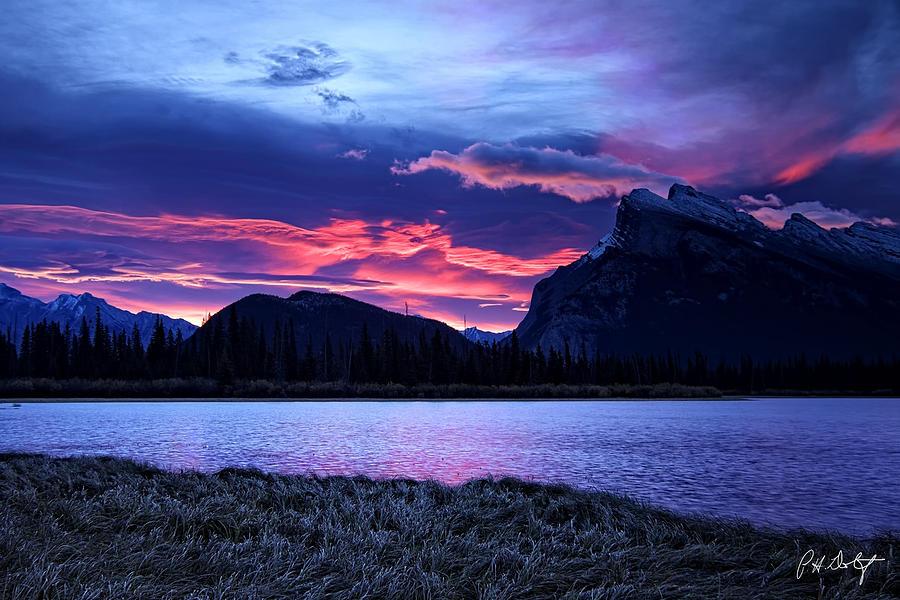 Alberta Photograph - Banff Sunrise  by Phill Doherty