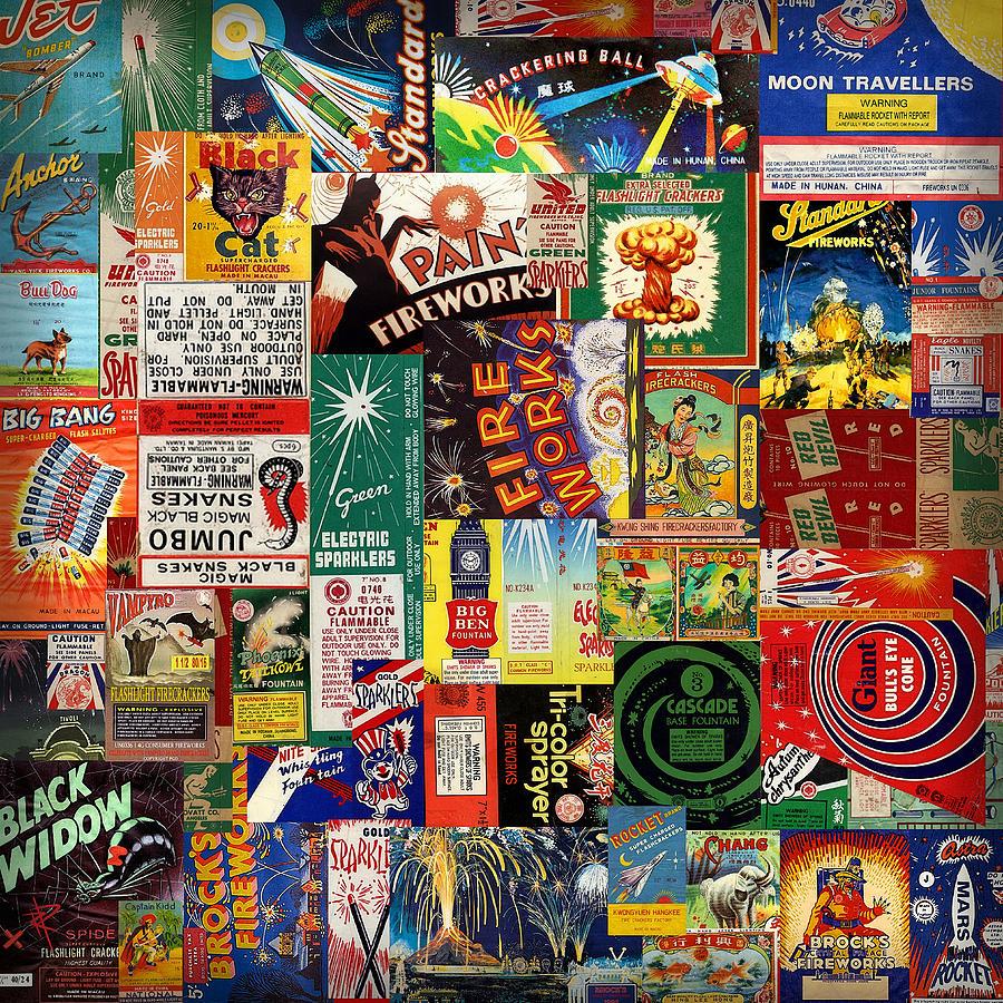 Fireworks Digital Art - Bang by Russell Pierce