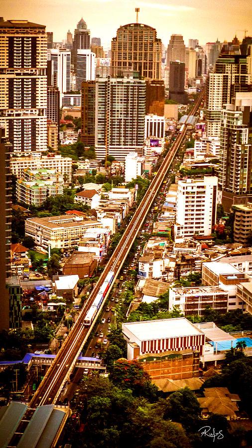 Thailand Photograph - Bangkok City of Angels by Allan Rufus