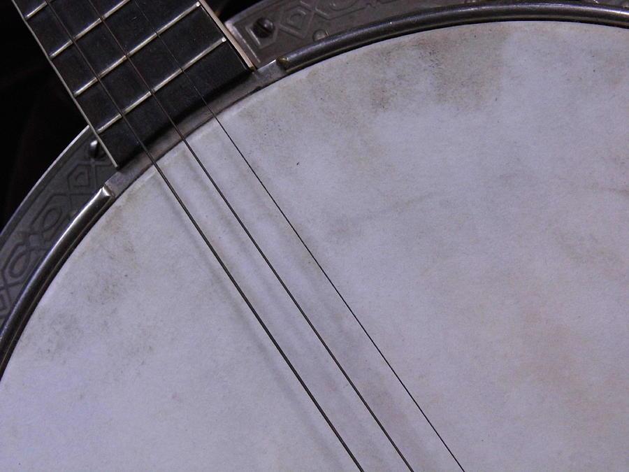 Banjo Photograph - Banjo Abstract by Kay Sparks