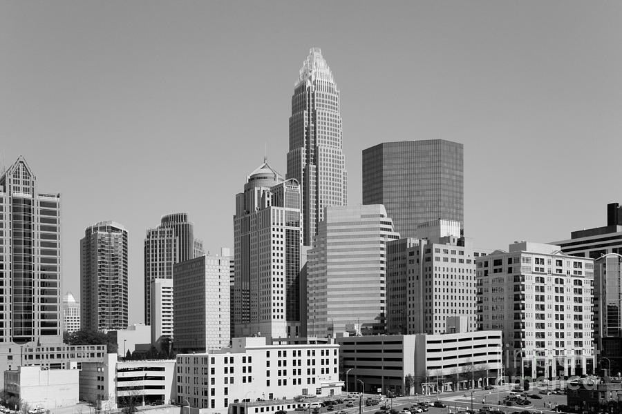 00c63e5aea5 Bank Of America Corporate Center Charlotte Nc Photograph by Bill ...