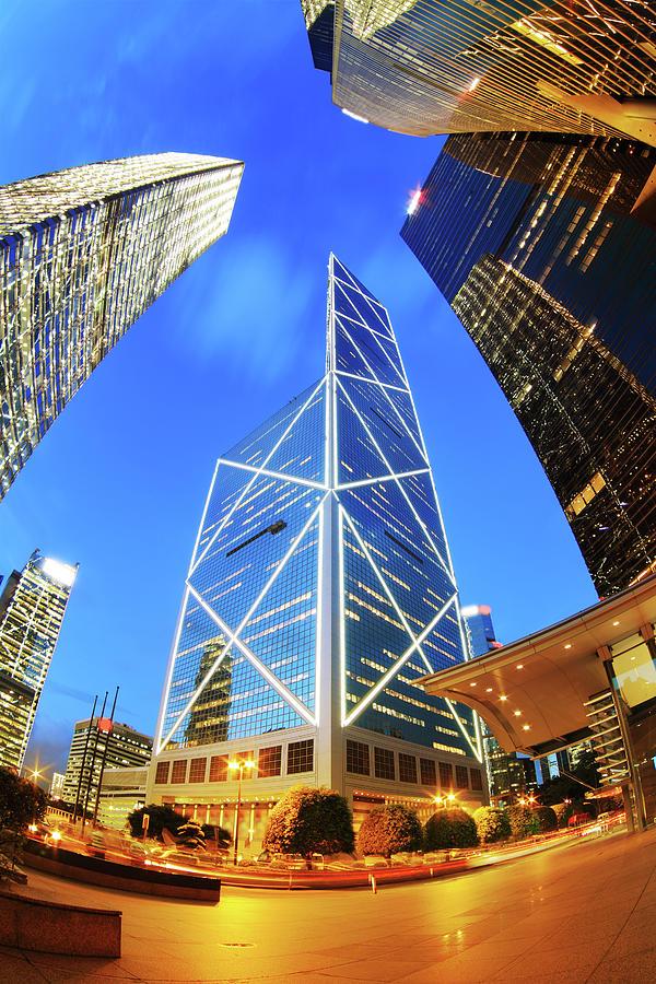 Bank Of China Hong Kong Photograph by Samxmeg